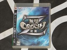 Playstation 3 PS3 Import Musou Orochi Warriors Z Japanese Voice Chinese Subtitle