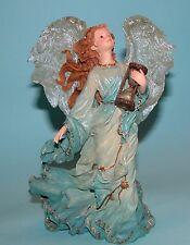"Boyds Bears Charming Angel ""Tessa Guardian of Time"" #28227 Nib 2002 hour glass"