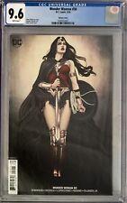 Wonder Woman (2018) #50 CGC 9.6 Jenny Frison Variant Cover!