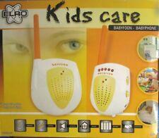 Babyphone Babyfon Baby-Überwachung Analog Funk 2 analoge Kanäle Akku Betrieb