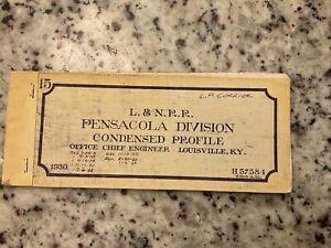 L&N Railroad Pensacola Division Track Profile Complete