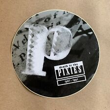 Pixies ~ Death To The Pixies promo sticker 1997 ~ 4Ad