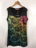 SMASH Damen Kleid, Größe XL, Mehrfarbig, mit Muster, schick