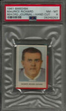1961 Swedish Rekord Journal Maurice Rocket Richard PSA 8 NM-MT Hockey Card