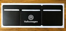 Volkswagen VW  Car Van Road Tax, Insurance, NCT Disc Holder  New Wallet Permit