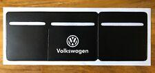 Volkswagen VW  Car Van Road Tax, Insurance, NCT Disc Holder  New Wallet Black