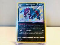 Galarian Obstagoon SV080/SV122 Shiny Holo Rare Pokemon Shining Fates