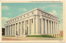 U.S. Post Office and Court House in Jefferson City MO Postcard