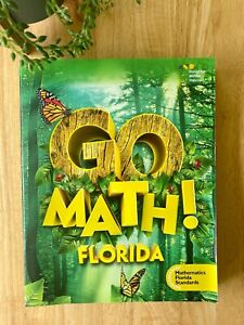 GO MATH! 1st Grade Student Edition Book with Color Pages (Home or School)