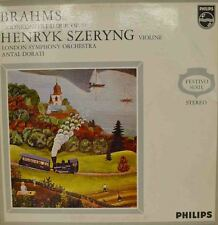 "BRAHMS - VIOLINKONZERT D-DUR,OP.77- HENRYK SZERYNG - ANTAL DORATI 12"" LP (W 148)"
