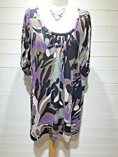 French Connection Top/Tunic~Size 14~Multi Colour~Short Sleeve~Casual~1704