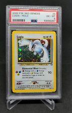 Pokemon Neo Genesis 9/111 Lugia Holo PSA 6 WOTC