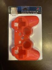 Sony PLAYSTATION 3 Official SIXAXIS Wireless Controller Glove NEW SEALED Red
