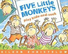 Five Little Monkeys Play Hide-and-Seek-ExLibrary
