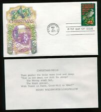 #1445 8c Christmas Dove FDC Cover Craft Cachet with Insert UA  FD5026