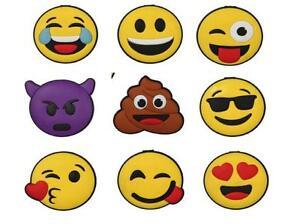 3x Emoji Face Fridge Magnets Love Kiss Wink Poop Memo Magnets Christmas Gift