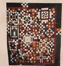"Texas Shop Hop MYSTERY QUILT SAMPLER Pattern 1999 10 Shops 10 Blocks 76"" x 84"""