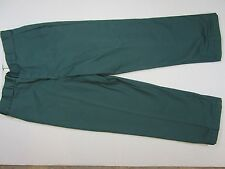 LL Bean Men's blue  Insulated Pants 34/28 Made in Usa Vtg Work outdoors casual