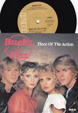 Bucks Fizz ORIG OZ PS 45 Piece of the action EX '81 RCA Euro Pop