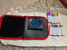 Dinosaur Coloring Book 14 Page + Markers Wet-erase/Reusable Pad Drawing Kit Kid