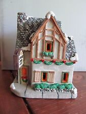 California Creations Christmas Village Hand Painted Linens & Lace 97461