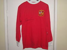 Denis Law Signed Manchester United FC 1963 FA Cup Final Shirt