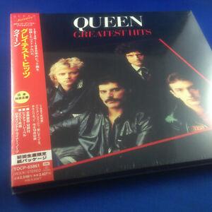 QUEEN: Greatest Hits I (ULTRA RARE 2001 JAP 24bit ART REMASTER PROMO TOCP-65861)