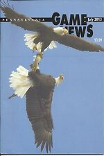 Pennsylvania Game News July 2013 cover by John Regester bald eagle