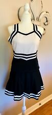 women's adult size cheerleading outfit size large Halloween Sexy Pretend Costume
