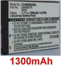 Battery 1300mAh type BF5X SNN5877A For Motorola Defy XT