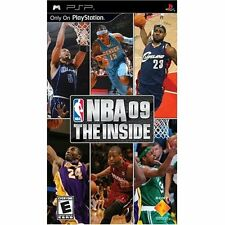 NBA '09 The Inside Sony For PSP UMD Basketball With Manual And Case Very Good 2E