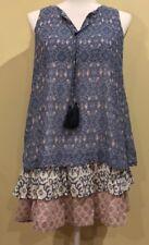 Rewind Boho Dress Patterned Multicolored Size S