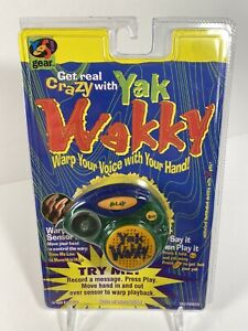 YAK WAKKY 1997 GAME NEW YES GEAR GREEN - Opened Packaging - Tested!
