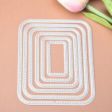 Rectangle Metal Cutting Dies Stencil DIY Scrapbooking Card Paper Embossing Craft