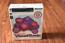 Microsoft Visual Basic 5.0 Professional Edition 1196 Part No 93012 NEW SEALED