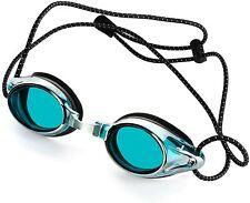Proswims Anti-Fog Racing Swimming Goggles Blue
