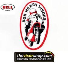 Bob Heath Motorcycle Helmet Visor BHV554  - BELL Legacy Visor - DARK TINT 2mm