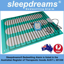 BLUE Sleepdreams® Bedwetting Mattress Alarm NON-INVASIVE Bed Wetting Enuresis