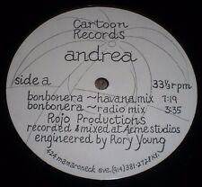 "Bonbonera Andrea~1989 Latin Acid House Merengue 12"" Single~FAST SHIPPING!!!"