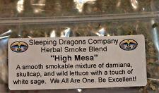 High Mesa Herbal Smoking Blend, dry herbs, 7 grams Legal Smoke Natural Herbs