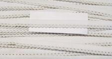5 m elastische Wäschespitze 0,65 Euro/m Spitze Polyester 10 mm weiß