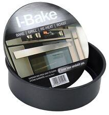 "I-Bake Pendeford Non Stick Loose Base Bottom Oven Sandwich Cake Tin Pan 8"""