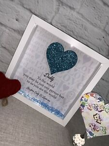 Personalised Quote Gift Frame - To The World