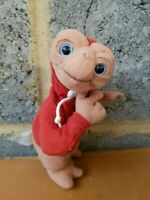 E.T. The Extra Terrestrial Universal Studios Plush Soft Toy Red Jacket FREE P&P