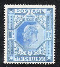 KEDVII Sg 265 10/- ultramarine UMM with light gum creasing & with German cert??