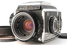 Zenza Bronica S2  Nikkor-P 75mm f2.8 Medium Format Camera from Japan 899