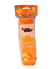 Home Smart Citrus Scented 26 Gallon Garbage Bags