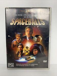 SPACEBALLS Mel Brooks John Candy Australian R4 DVD VGC FREE TRACKED POSTAGE