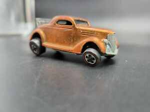 1968 Mattel Red Line Hot Wheels Classic 36 Ford Coupe Diecast Toy Car