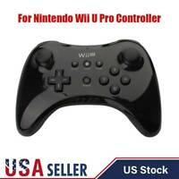 USA Replace For Original Wii U Pro Controller Wireless Gamepad Nintendo Black